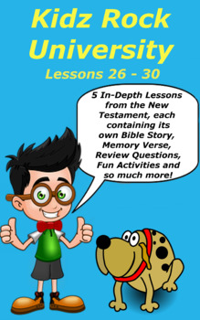 Children's Bible Curriculum – A Five Pack - Lessons 26-30