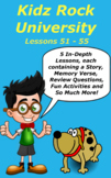 Children's Bible Curriculum – A Five Pack - Lessons 51-55