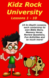 Children's Bible Curriculum – A Ten Pack - Lessons 01 - 10