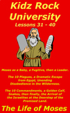 Children's Bible Curriculum – A Ten Pack - Lessons 31-40 - The Life of Moses