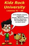 Children's Bible Curriculum – A Ten Pack - Lessons 41-50