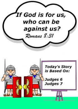 Children's Bible Curriculum - Lesson 11 - Gideon Battles the Bully