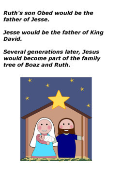 Children's Bible Curriculum - Lesson 12 - The Book of Ruth