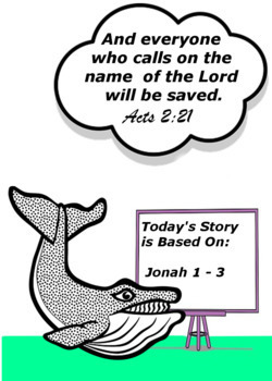 Children's Bible Curriculum - Lesson 21 – The Book of Jonah