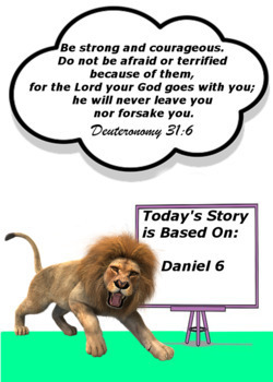 Children's Bible Curriculum - Lesson 23 – A Dinner Date with a Den of Lions