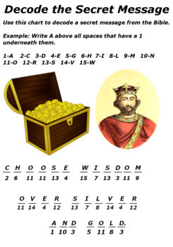 Children's Bible Curriculum - Lesson 58 – The Wisdom of King Solomon