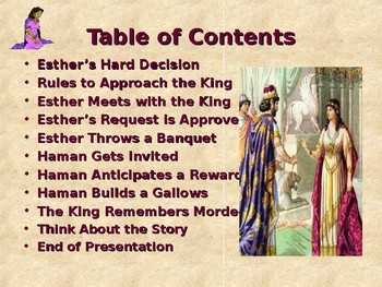 Children's Bible Stories - Esther - Part 4 - Esther's Plan Put in Motion