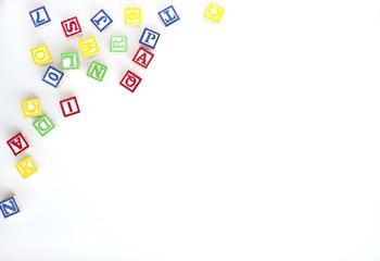 Children's Block Stock Image