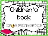 Read Across America Activity ~Children's Book Emoji Pictio