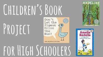 Children's Book Project for High Schoolers - Social Studies - Activism