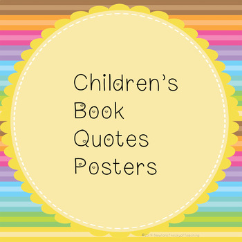 Children\'s Book Quotes Posters by Newton\'s Theory of ...