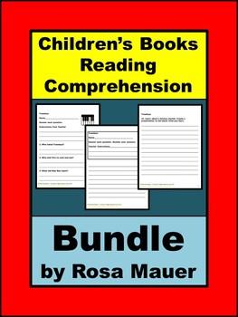 Children's Book Reading Comprehension Growing Bundle