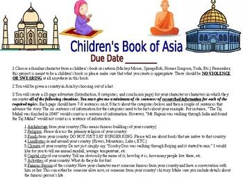 Children's Book of Asia