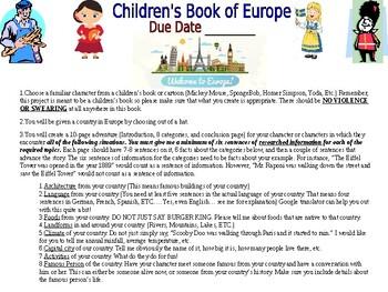 Children's Book of Europe