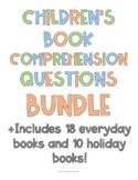 Children's Books Comprehension Questions Bundle (28 Books)