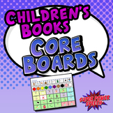 Children's Books Core Boards for AAC