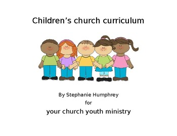Children's Church Curriculum Pack