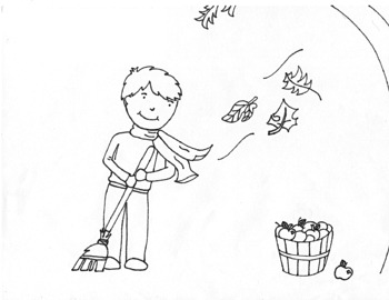 Free Autumn Colouring Sheets, Download Free Clip Art, Free Clip ... | 270x350