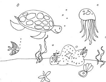 35 Best Free Printable Ocean Coloring Pages Online | 270x350