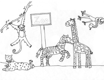 Baby Animal Coloring Pages Tag: Marvelous Zoo Animal Coloring ... | 270x350