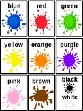 Children's Colour Flash Cards