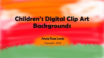 Children's Digital Clip Art Backgrounds