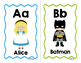 Children's Favorite Characters Alphabet