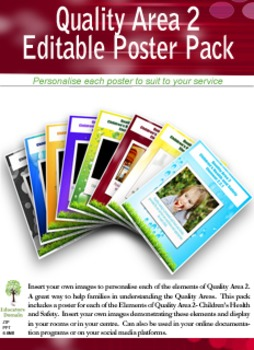 Children's Health and Safety Poster Pack