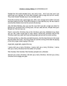 Children's Holiday Medley PDF