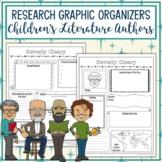 Children's Literature Authors Biography Graphic Organizers Bundle
