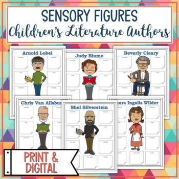 Children's Literature Authors Sensory Figures