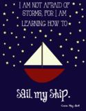 Children's Literature Quote Posters - Nautical