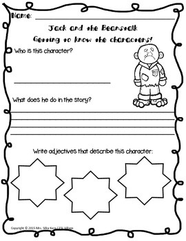 Children's Literature / Tales (Jack and the Beanstalk)