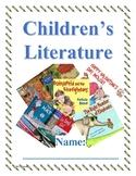 Children's Literature Unit Packet