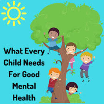 Children's Mental Health Needs