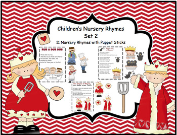 Children's Nursery Rhymes  Set 2