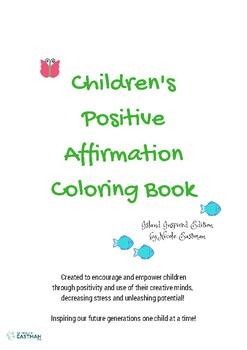 Children's Positive Affirmation Coloring Book