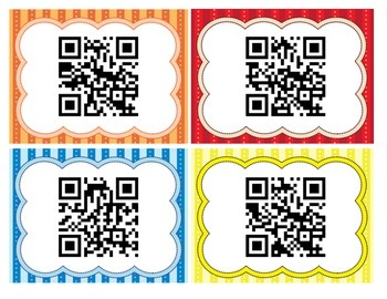 Color Songs using QR Codes FREEBIE!
