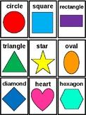 Children's Shape Flash Cards