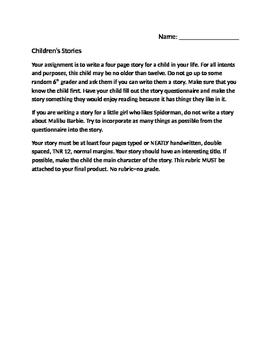 Children's Story Project