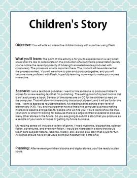 Children's Story in Flash