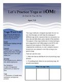 Children's Yoga Workbook