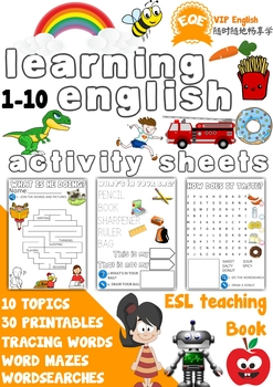 esl free printable worksheets for beginners