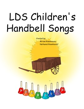 LDS Children's songbook for 8 note colored handbells