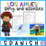 Children's story in Spanish - Los Andes, historia en español
