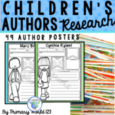 Childrens Author Research  Poster Project Mega Set!