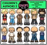 Children's Authors 2 Clip Art Bundle {Educlips Clipart}