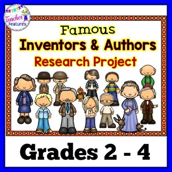 Children's Authors &Famous Inventors Research Paper
