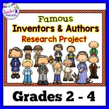 Children's Authors &Famous Inventors Research Paper