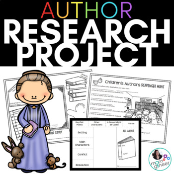 Children's Authors Research Project